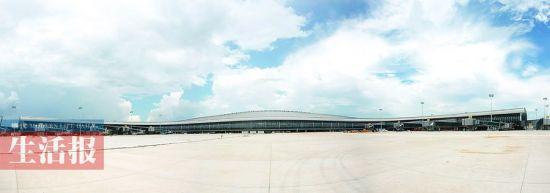 南宁机场新航站楼主体工程已进入精装修阶段