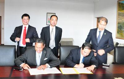 南宁市与马达加斯加塔那那利佛市签署缔结友好城市意向书