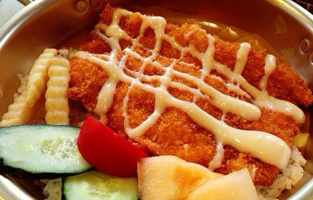 【咖喱猪排饭】