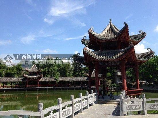 中秋期间天气良好,网友可以放心出行。图为黄姚古镇美景。广西新闻网记者 陈仁义 摄