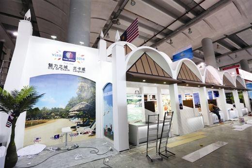 马来西亚·兰卡威展馆:沙滩、美食让人流连