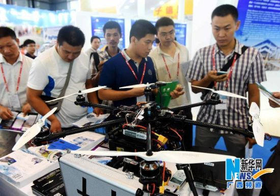 2014年9月16日 先进技术成果亮相第11届中国―东盟博览会