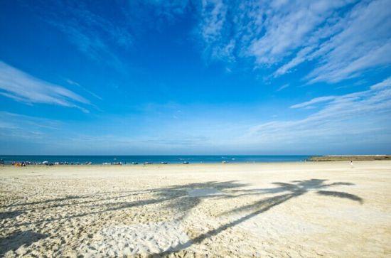 北海沙滩 图源:泡鱼儿(新浪博主)