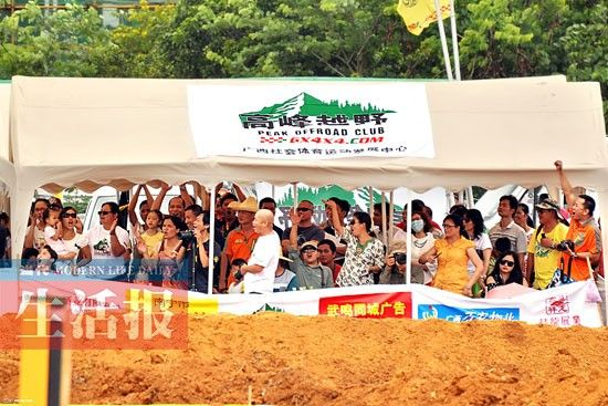 各种赛事都有忠实观众捧场。