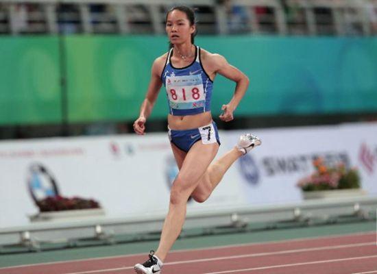 广西姑娘韦永丽今晚冲刺亚运会女子100米金牌