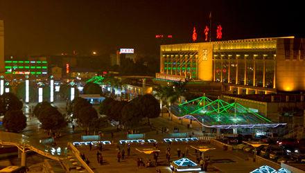 南宁夜晚风景图片