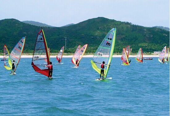 柳州帆板邀请赛