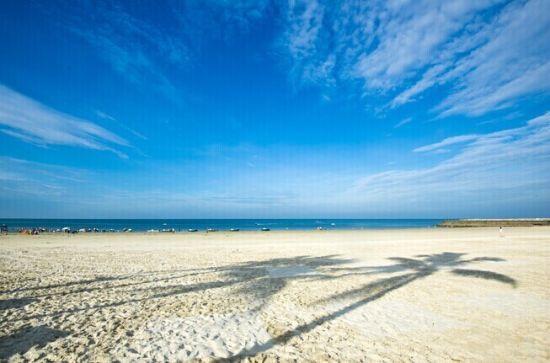 北海银滩 图源:泡鱼儿(新浪博主)