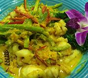 当流沙黄遇上泰国菜流沙鲜鱿