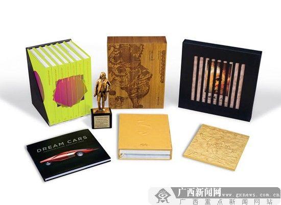 图为雅昌文化集团的获奖书籍。