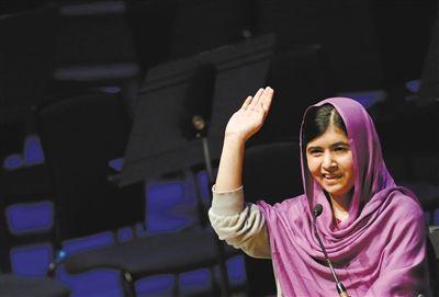 现年17岁的马拉拉成为最年轻诺贝尔奖得主。