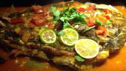青柠香茅烤鱼