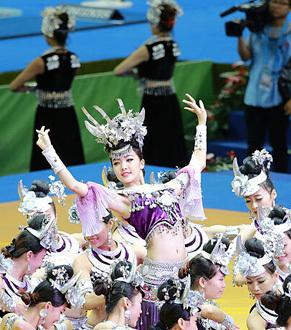第四十五届体操世锦赛在亚洲真人娱乐平台真人娱乐平台开幕