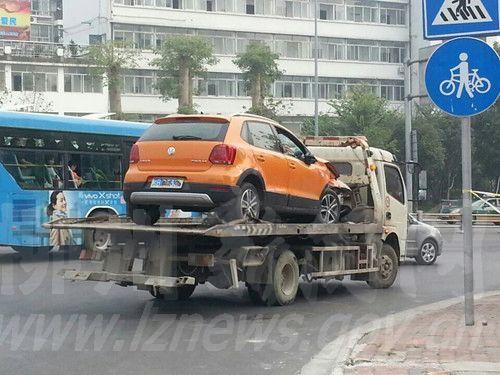 车子被拉走