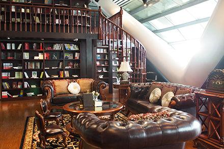概念书屋候机体验厅大厅