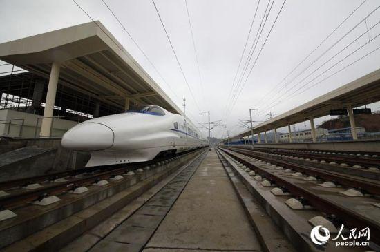 贵广高铁桂林至三江段模拟运营