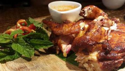 东南亚香茅鸡