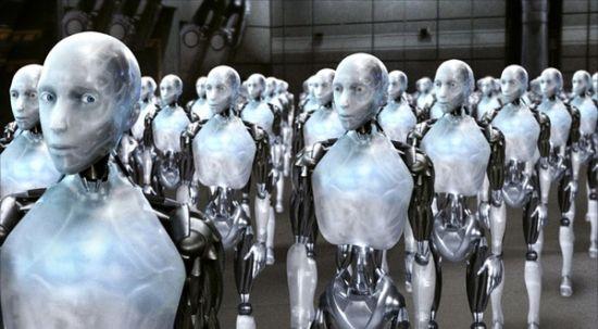 《我,机器人》剧照