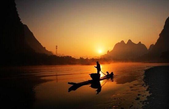 漓江渔歌 图:新浪博主/561498738_993bd0