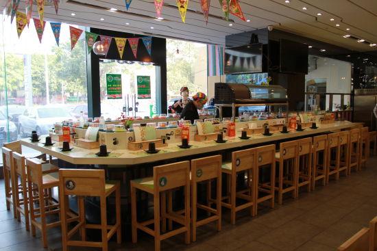 星选寿司 餐厅环境