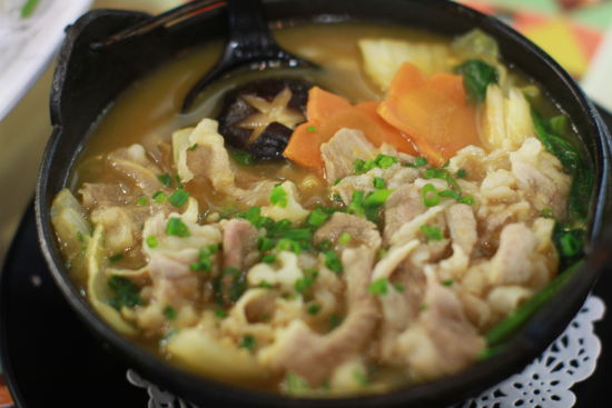 泡菜牛肉锅