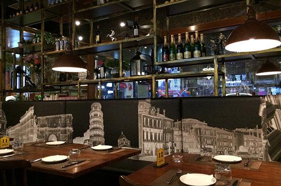 CIAO俏意大利餐厅环境