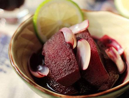 【肉桂红酒煮苹果】