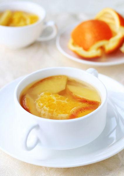 【苹果香橙茶】