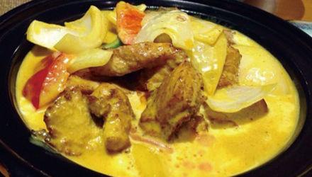 雅庄花园餐咖喱鸡