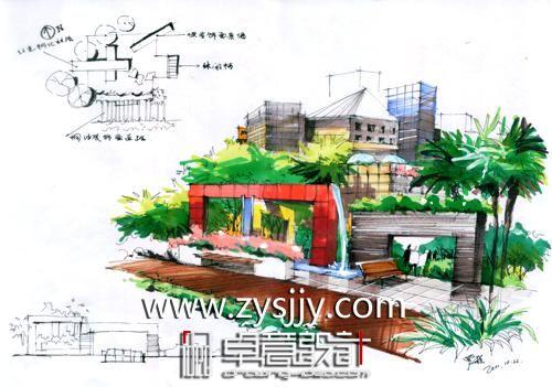 武汉手绘培训班 光谷卓意设计学校带你踏入设计师