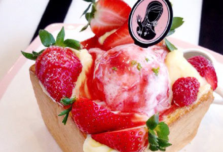 草莓土司金钻