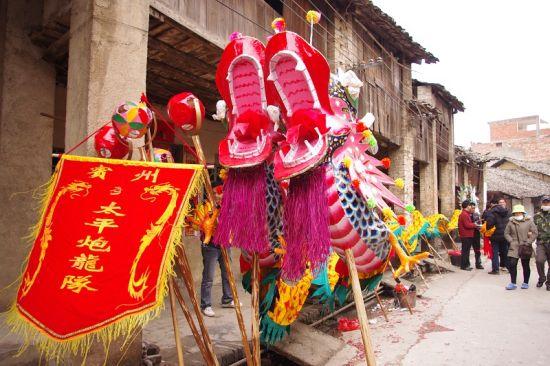 炮龙节是宾阳历史文化的一部分 图:新浪博主/一脸瘦肉