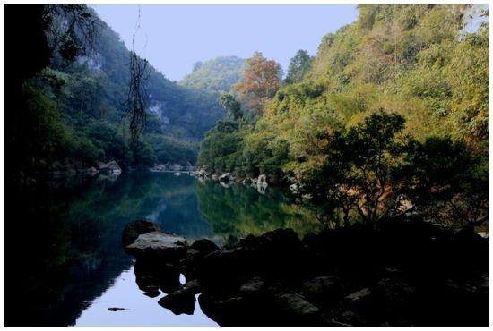 鹿寨香泉一景 图:新浪博主/桃源小舟