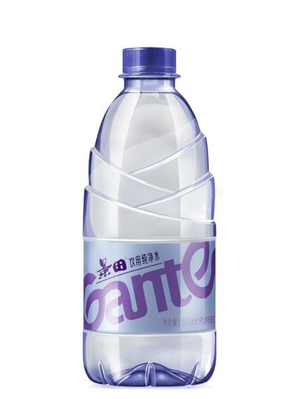 景田纯净水新包装隆重上市——东西方融合
