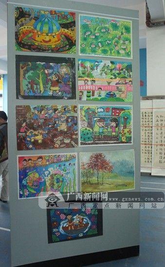 桂林市中小学,幼儿园生态文明主题书画大赛落幕