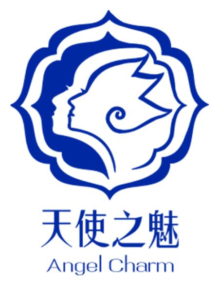 天使美国国旗logo设计