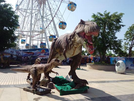恐龙展图片