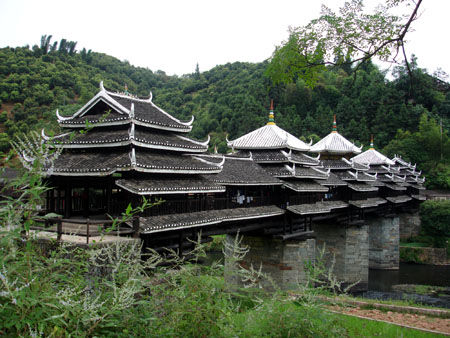 三江程阳景区图片