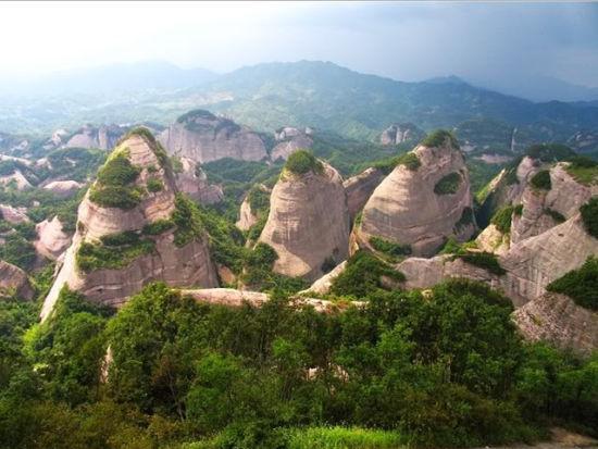 广西桂林市资源县的风景