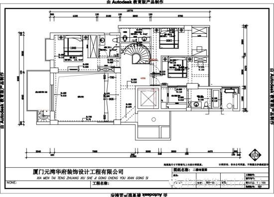 房屋设计图片楼中楼平面图