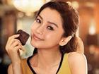 杨颖Angelababy拍摄GODIVA巧克力品牌广告大片