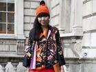 2014春夏伦敦时装周街头型人齐奏另类风