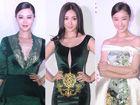 兰玉2014年高级定制发布会:女明星红毯斗艳