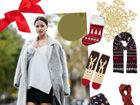 圣诞节欢乐购物季Shopping着装有姿态