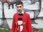 圣诞节跟潮人一起穿上节日印花毛衣温暖出街