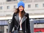 用酷劲迷彩裤表达时髦态度打造冬日出街Look
