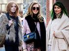 2014秋冬纽约时装周秀场外街拍第一波来袭