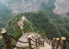 桂林丹霞之魂八角寨路险山峻石奇林秀