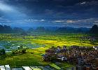 广西桂林会仙田园欣赏湿地四季绝美风光