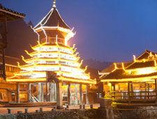 黔东南侗寨鼓楼